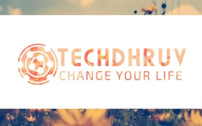 New LOGO Of TechDhruv by TheDhruv