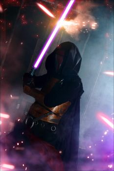KOTOR: Darth Revan cosplay by DarielZerenski