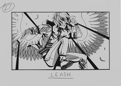 Day 27 - Leash by Inui-Purrl