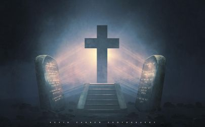 Ten Commandments and the Cross by kevron2001
