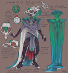 Quetzal Costume Design by fralea