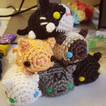 Cat Stack by syppahscutecreations