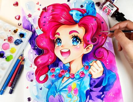 Pinkie World by Naschi