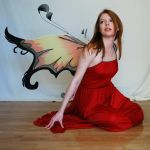 Red Fairy Stock 4 by chamberstock