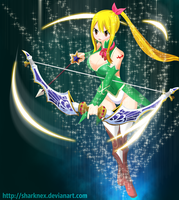 Fairy Tail - Lucy Sagittarius Form by sharknex