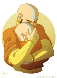 Tenzin and the Avatar pt. 1 by bbandittt