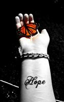 Finding Hope (black and white) by Michies-Photographyy