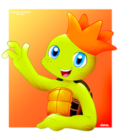 ''Picture Perfect: Little Turtle King'' by Codename-Turtlefairy