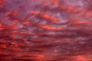 Pink Sunset Clouds - Stock by Thy-Darkest-Hour