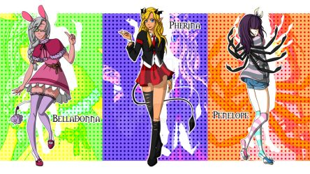 DW Opening Project: Belle, Pherina and Penelope by TJ-Hiyama