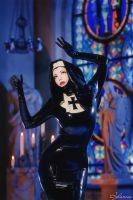 Don't bless me, Father, for I have sinned by Violet-Spider