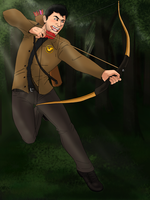 Katniss Everdong by kenzi283