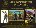 Commission Rate Sheet 2018 by ProdigyDuck