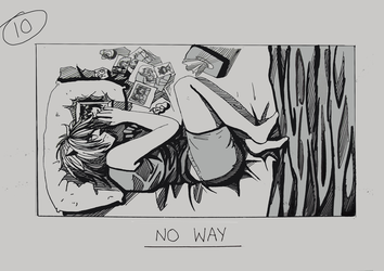 Day 10 - No Way by Inui-Purrl