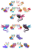 Unicat Breeding Batch(*Closed*) by xavs-pixels
