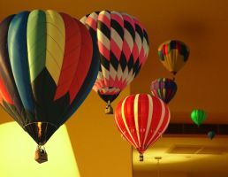 Ballooning in the Living Room by deaconZR