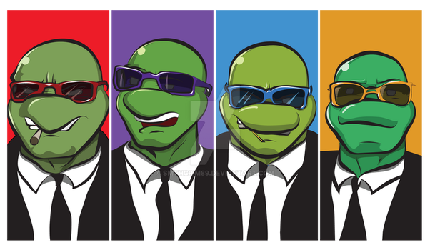 Reservoir Turtles by smthcrim89