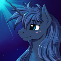 Moon (not Luna) by Twotail813