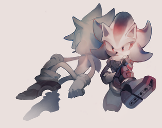 sonic and shadow 3 by aoki6311