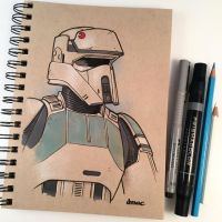 Shoretrooper Sketch by D-MAC