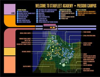 Starfleet Academy Map by CmdrKerner
