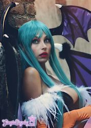 Morrigan Vampire Savior Darkstalkers,yes that's me by Giorgiacosplay