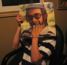 Elton John SleeveFace by Theslaw
