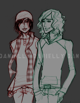Stan and Kyle - COLLEGE. by danielly