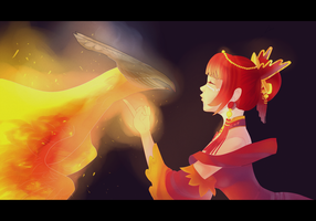 Lina and Phoenix by SchnellenTod