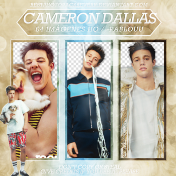 Pack Png 2244 - Cameron Dallas. by xbestphotopackseverr
