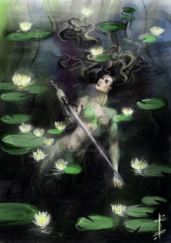 lady of the lake by LudvikSKP
