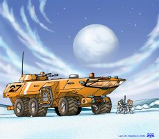 Taurus Exploration Vehicle by Artraccoon