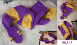 Prototype: Ekans scarf - for sale!