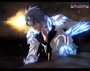 Toshiro Hitsugaya - Digital Painting by Gray-Dous