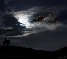 Ghost Riders in the Sky by plutoplus1