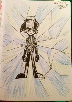 Inktober Day 12: Shattered by PhantomS14