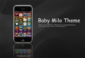 Bape Baby Milo iPhone Theme by illushane