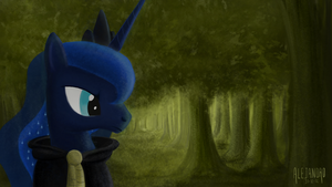 Suddenly in the Everfree Forest by VSabbath