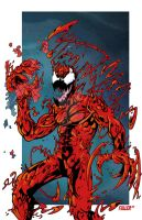CARNAGE   spiderman yummy by Chadfuller