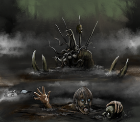 That Thing in the Swamp by Crowsrock