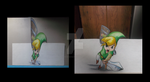 Anamorphic Toon Link by Oscar-Manuel