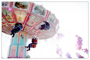 colorful chairoplane II by steeerne