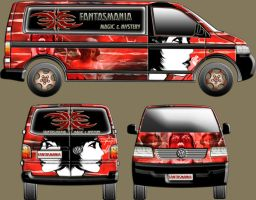 Volkswagen T5 - Pimped up Van by SouthernDesigner