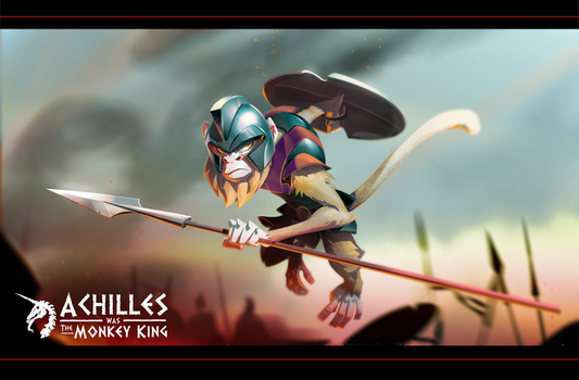 Battle Monkey Achilles by Gilmec