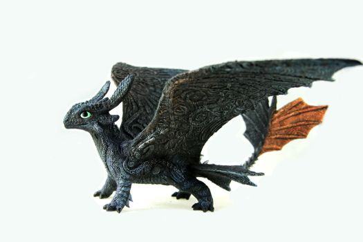 Toothless I by hontor