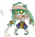 Amumu Redesign fanart by aftertaster7