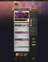 League Of Legends Fan page site by rEspaWn16