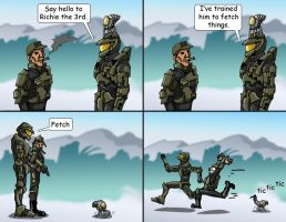 Master Chief's Pet 3 by Swashbookler