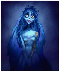 Emily The Corpse Bride by Niniel-Illustrator