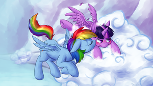 Cloudy With a Chance of Smooches by yeendip